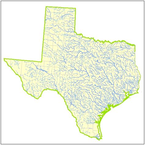 map of texas rivers and cities texas lakes and rivers map pictures to pin on pinsdaddy