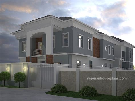 two bedroom duplex 4 bedroom duplex 2 bedroom flats ref 4015 nigerianhouseplans