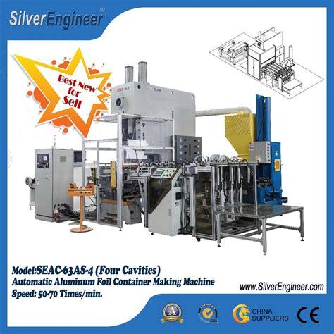 Aluminium Foil 4 aluminium foil container machine seac 63as 3 se china