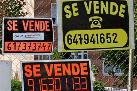 cartel venta piso carteles se vende piso onderweg naar spanje