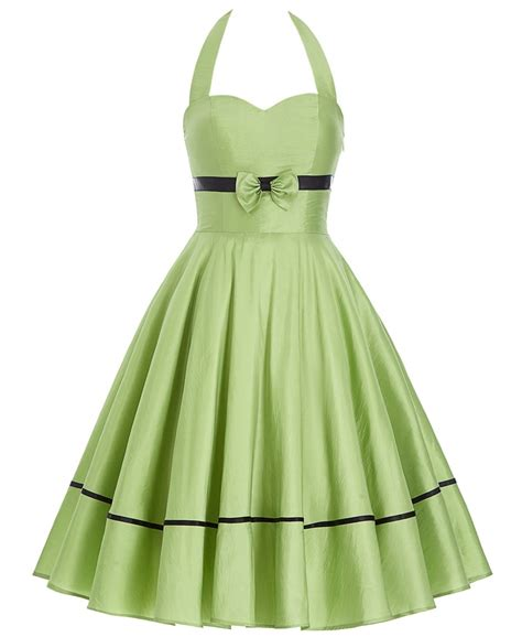pin up swing dress lime pin up swing halter 1950sglam