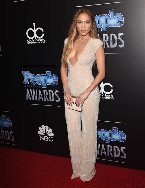 People Magazine Awards Fug Carpet: Jennifer Lopez in Naeem