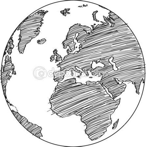 sketch your world drawing 1845435141 world map earth globe vector line sketched up illustrator