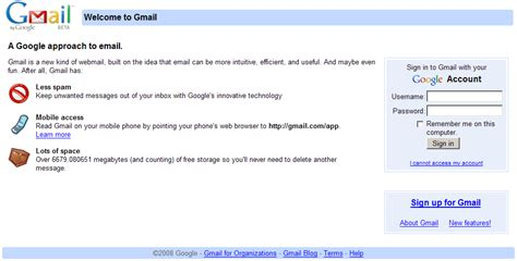 google gmail email account login page gmail login gmail login and gmail sign in information