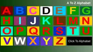 how to write abcd capital letters