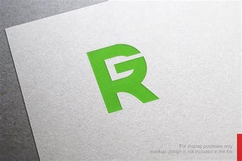 Abstract Letter R G Logo ~ Logo Templates ~ Creative Market G R Logo