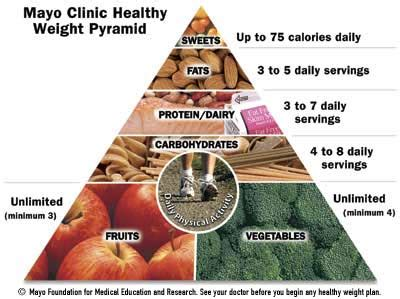 mayo clinic food pyramid large picture