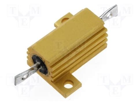 rs components wire wound resistor 2 1625966 1 te connectivity resistor wire wound tme electronic components