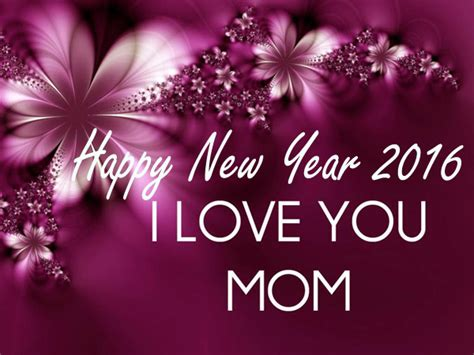special happy new year sms 2016 for loving mother