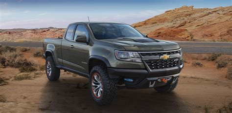 chevy colorado green 2015 chevrolet colorado zr2 concept la auto show gm