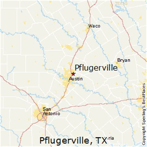 pflugerville texas map best places to live in pflugerville texas