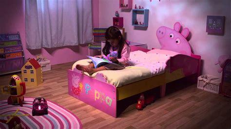 Bedroom Sets For Little Girls hellohome peppa pig snuggletime toddler bed youtube