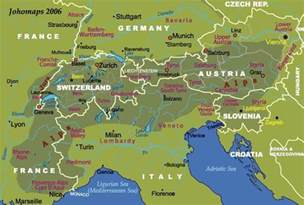 Alps Mountains On World Map by Gallery For Gt Alps Mountains Map