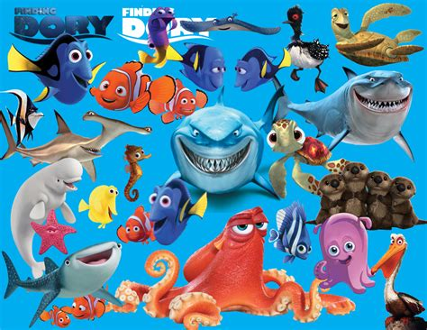 find clipart finding dory 27 digital clipart images transparent
