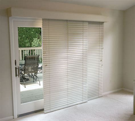 Blind For Patio Door Horizontal Blinds For Patio Doors Glider Blinds