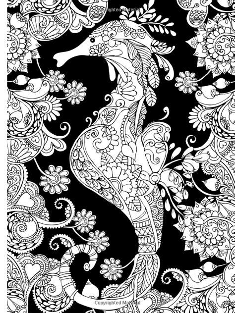 libro mandalas at midnight a creative haven magical mehndi designs coloring book striking patterns on a dramatic black