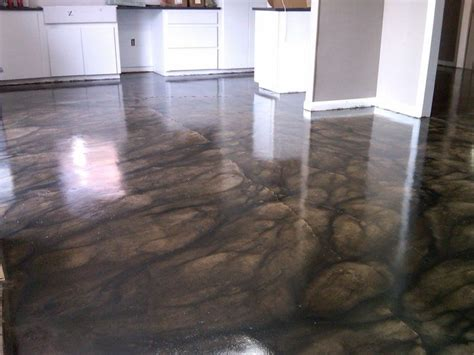 Cement Floor Stain by Stained Concrete Floors Recipes