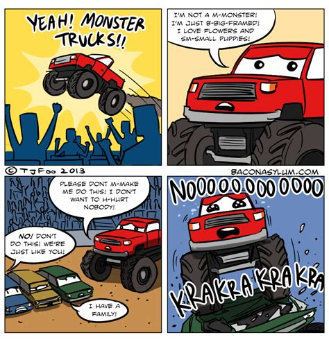 funny monster truck videos monster trucks pictures and jokes funny pictures best