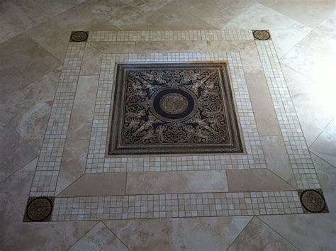 unique tile designs floor medallian mc tile design inc
