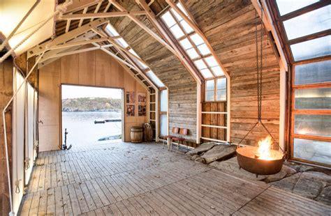 boathouse architecture naust paa aure boathouse by tyin architects homeli