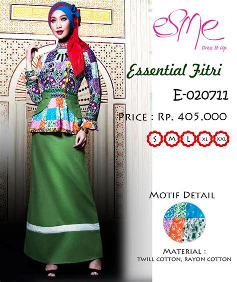 Baju Muslimah Esme E 010311 Pink Summer Dress esme ef e 020711 baju muslim gamis modern