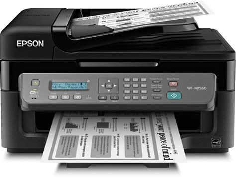 Printer Laser Epson epson workforce wf m1560 wireless monochrome all in one c11cc80201 electronics