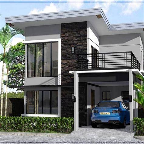 desain rumah minimalis  lantai ukuran  terbaru  denah lantai   laitai  rumah