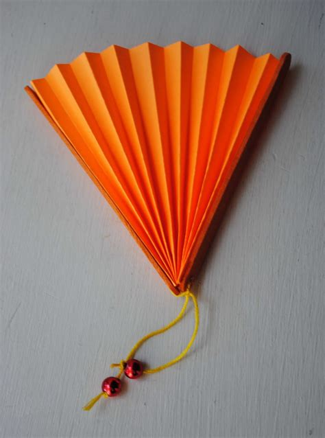 Paper Fan Craft For - zakka kid craft paper fans