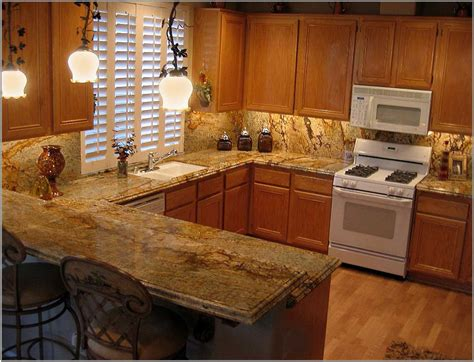 Backsplash Ideas For Kitchens With Granite Countertops by Wooden Kitchen Countertop Finishes Beige Fabric Windows
