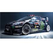 Gymkhana 8 Livery For Ken Block's Fiesta ST RX43 Revealed