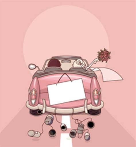 Just Married Auto Comic by Best 25 Just Married Car Ideas On Just