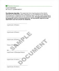 partnership buyout agreement template 9 sample partnership agreement forms free sample sample buy sell agreement 7 free documents in pdf word