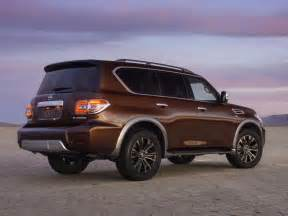 Nissan Armada Pictures The New Nissan Armada Is Channeling Its Rugged Heritage