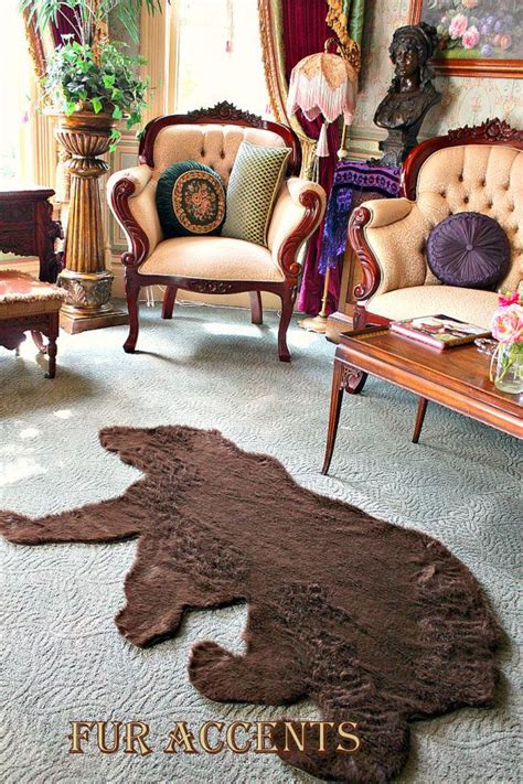 teddy skin rug 17 best ideas about skin rug on rug cigar room and country manor