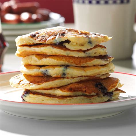 blueberry pancake recipe dad s blueberry buttermilk pancakes recipe taste of home
