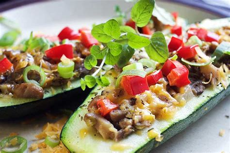cooking time for stuffed zucchini boats stuffed zucchini boats 15 minutes prep time