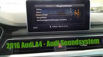 2016 audi a4 audi sound system fullhd