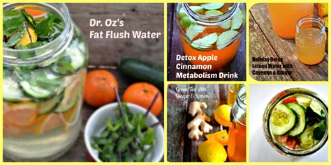 Dr Oz Detox Water When To Drink by Detox Drinks Archives 40 And