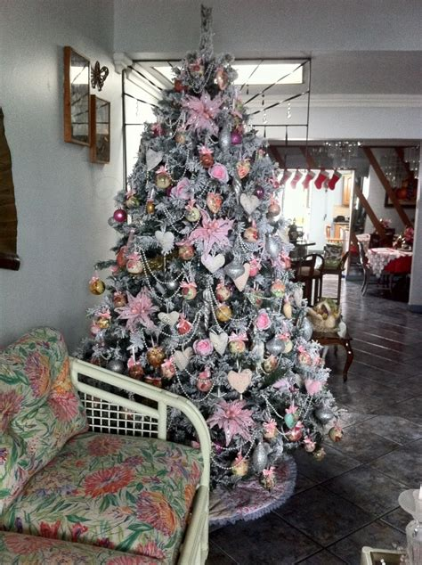christmas tree house pink and pearls christmas tree house tropical