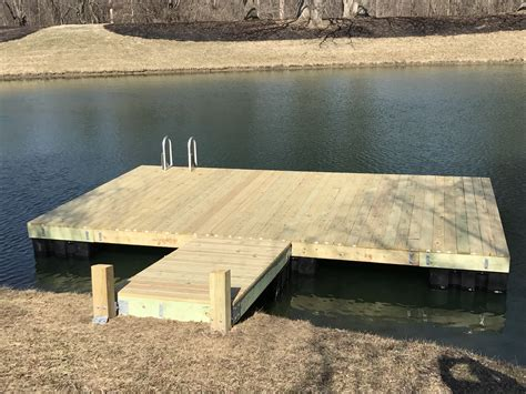 floating boat docks near me dock swim platform kit 12 ft x 12 ft bjornsen pond