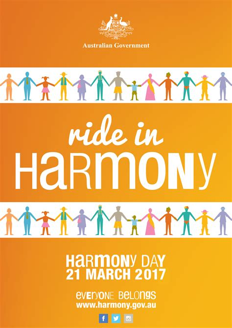 day posters posters harmony day