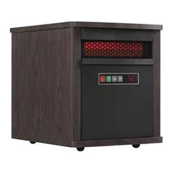 home depot infrared heater duraflame 1 500 watt electric infrared quartz portable