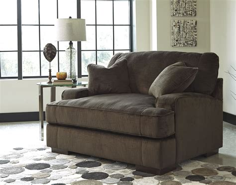 ashley furniture chair and a half recliner bisenti chocolate chair and a half from ashley 6530623