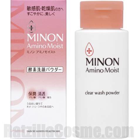 Minon Amino Moist Clear Wash Powder daiichi sankyo healthcare minon amino moist clear wash powder