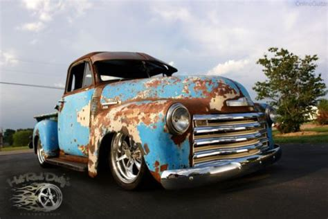 purchase used 1951 chevy 3100 hot street rod rat pickup