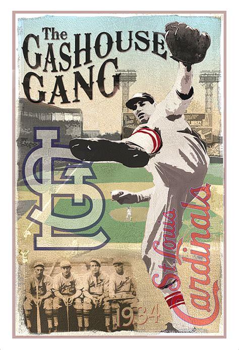 gas house gang st louis cardinals gashouse gang print 13x19 or