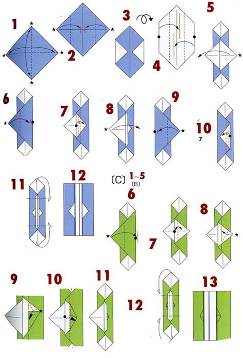 Type Of Origami - origami envelopes 4 types