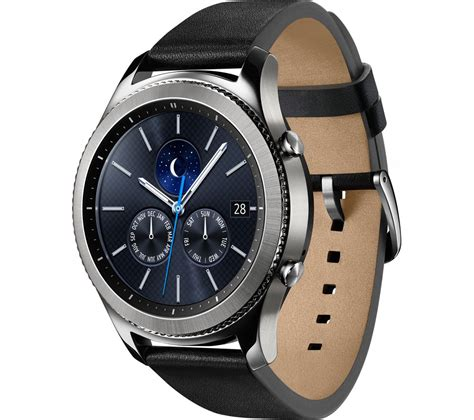 Samsung Gear S3 buy samsung gear s3 classic silver universal free