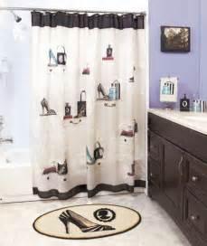 Bath And Shower Sets Details About Fashionista High Heel Purse Bath Shower