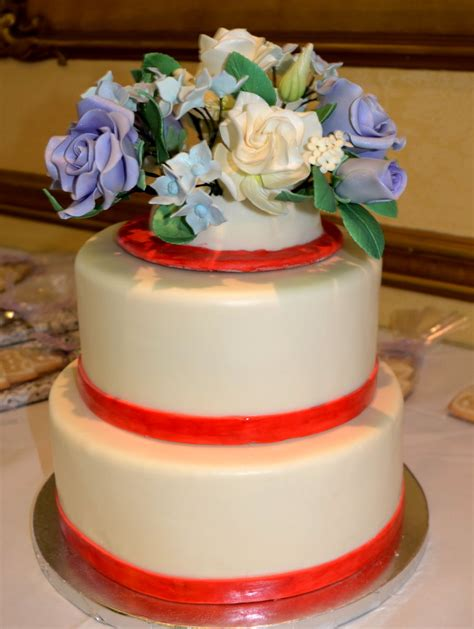 Tiered Wedding Cakes by 2 Tiered Wedding Cake Cakecentral